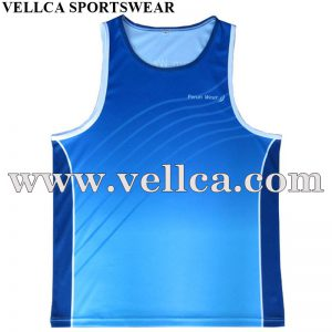 Design Your Own Personalized Running Tops School Running Vests