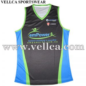 Custom Sublimation Printed Charity Running Vests