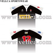 Sublimation Tight Rugby Shirt New Zealand Rugby Shirt