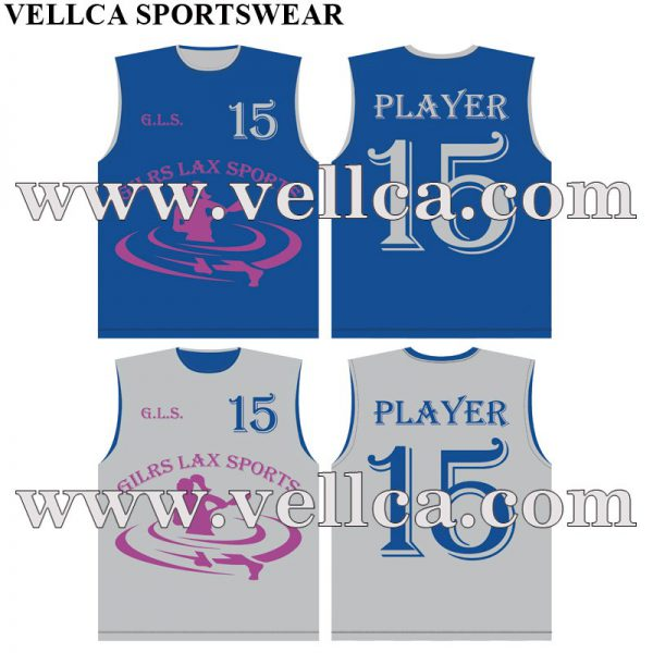 Adult and Youth Lacrosse Reversible Jersey Tank Design